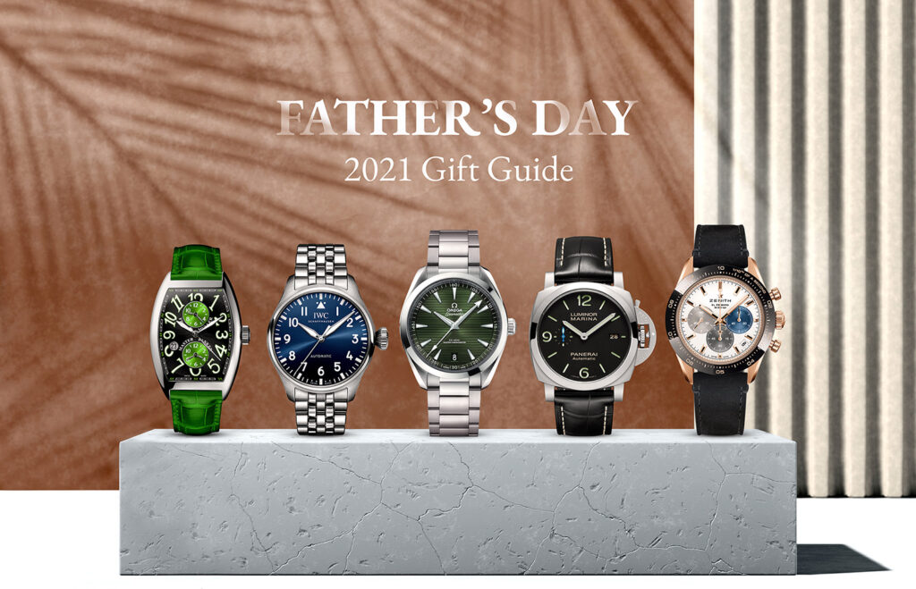 Sincerewatch.com Father's Day Gift Guide 2021