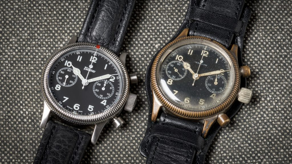 Tutima 1941 Flieger and Classic Flieger 783 Chronograph