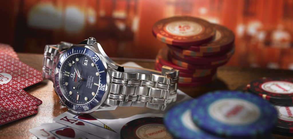 OMEGA Seamaster Diver 300M Daniel Craig James Bond 007 Casino Royale